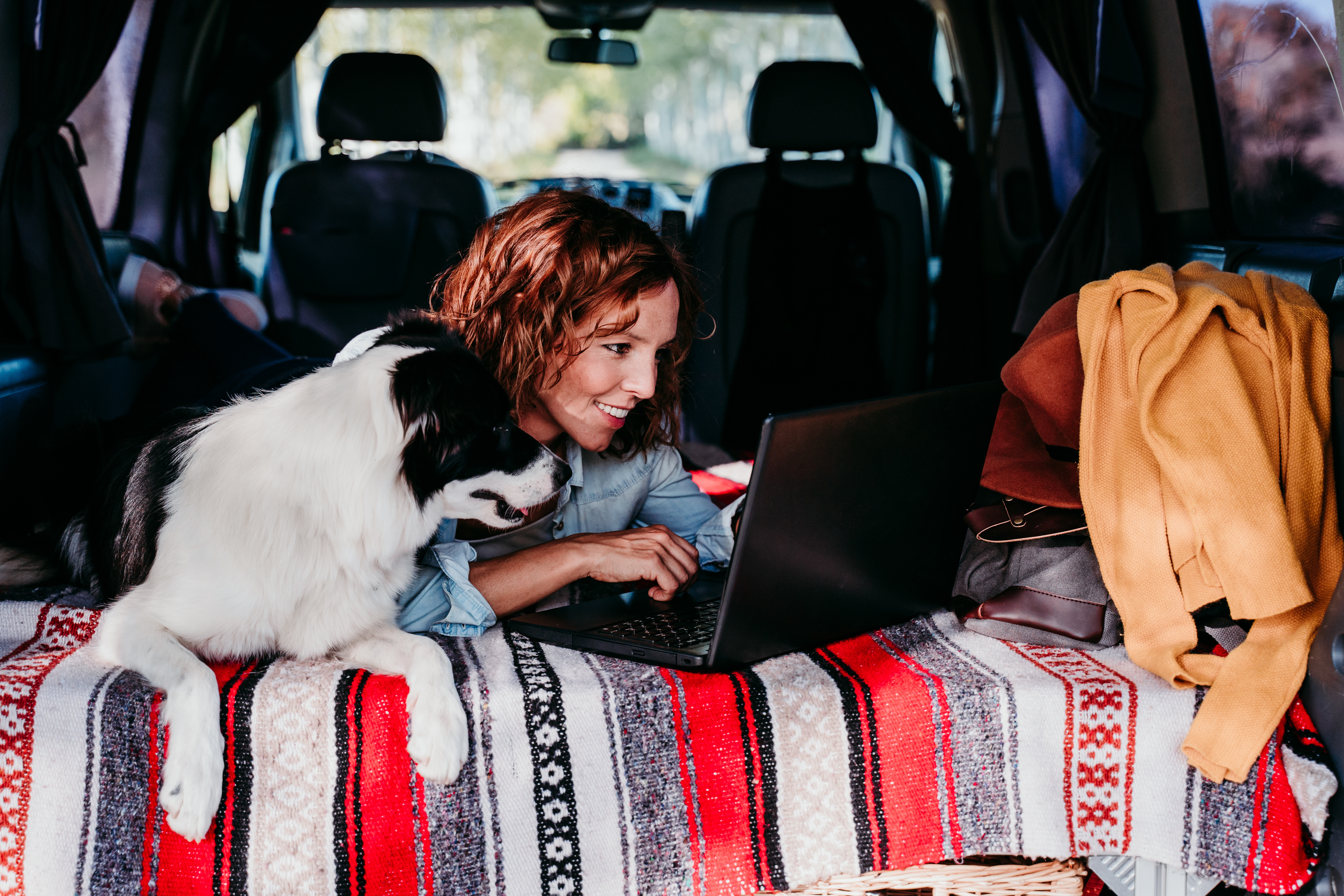 Use your caravan or camper as an office
