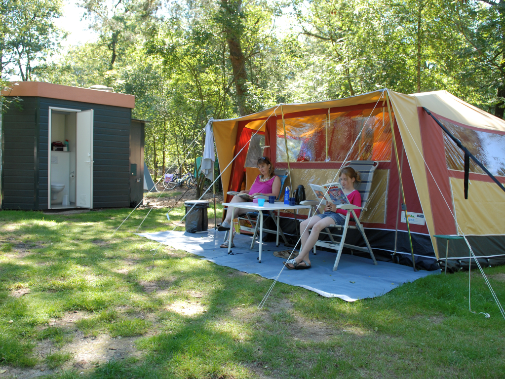 Holidays in the Netherlands: 8 campsites with private sanitary facilities