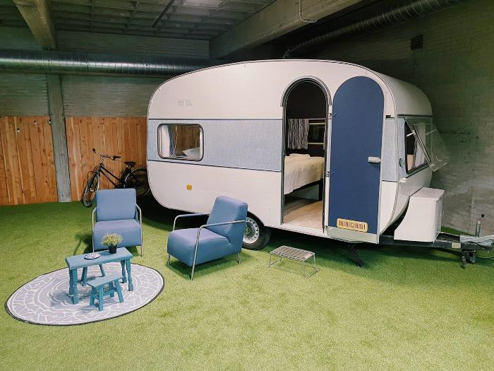 Outside Inn: indoor camping in Amsterdam
