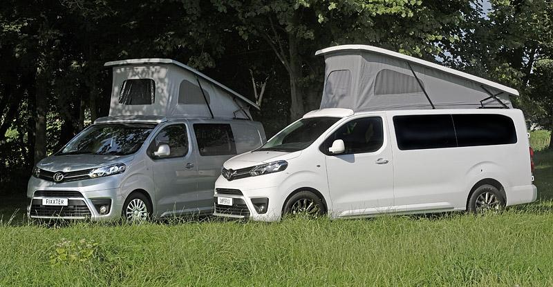 Het gaat naar verwachting om minimaal 30 elektrische campers in 2021.