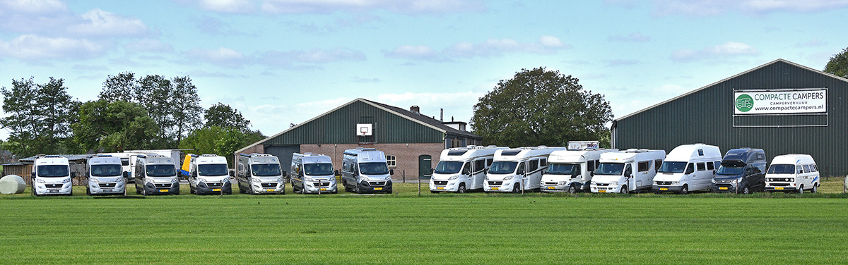 Het bedrijf biedt verschillende soorten campers: buscampers en integraalcampers voor twee tot zes personen.