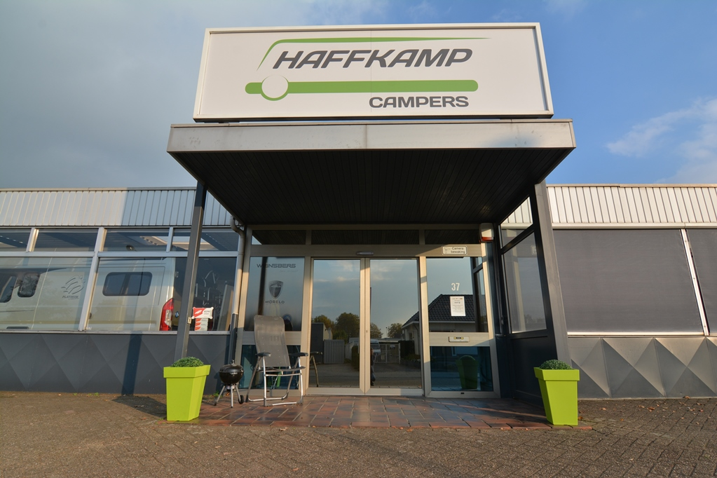 Haffkamp Campers is in relatief korte tijd een aanbieder van formaat geworden.