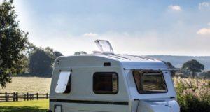Mini camper of caravan