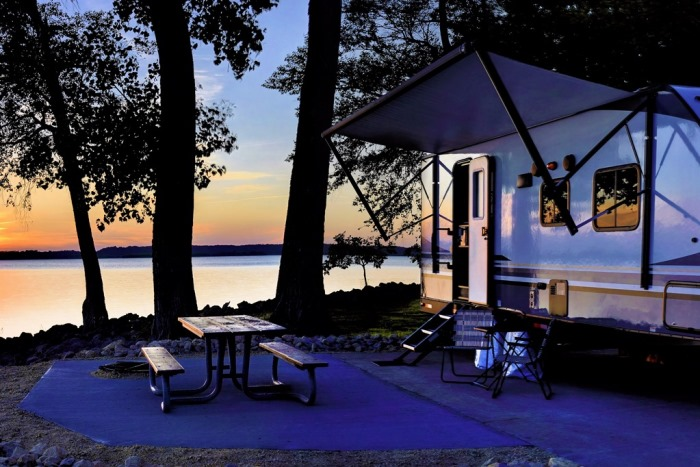 Seizoensplek op de camping: geliefd bij Nederlanders