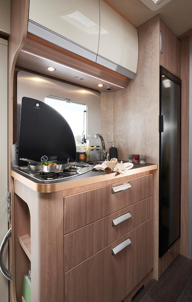 Keuken van de Laika EcoVip L 3009.