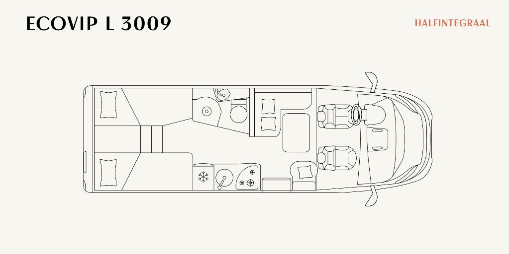 Plattegrond EcoVip L 3009