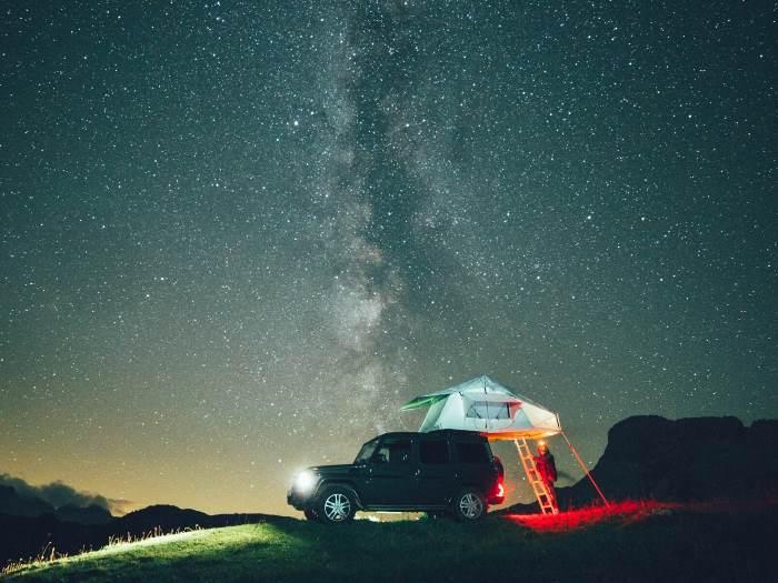 Daktent: slapen op je eigen dak