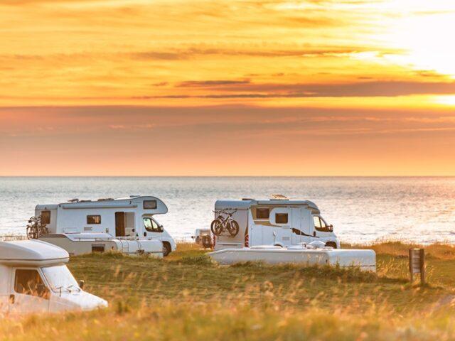 Recordaantal campers en caravans