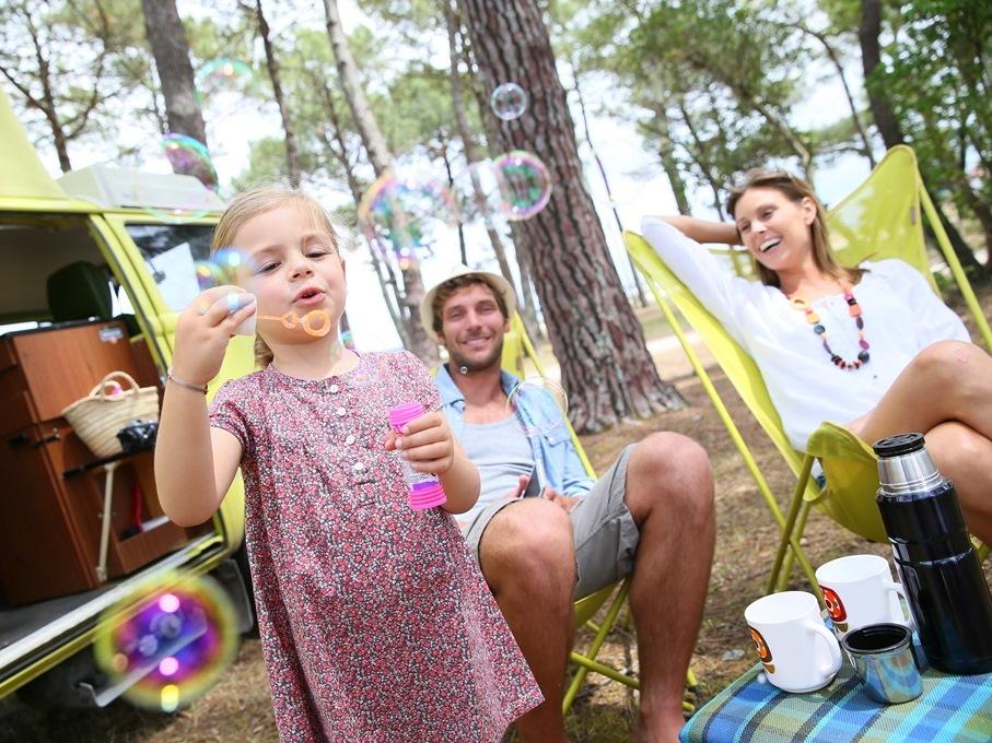 Ook in 2021 is de camping een favoriete vakantiebestemming.