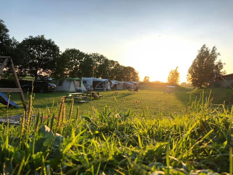 Camping van de Thabor Hoeve.