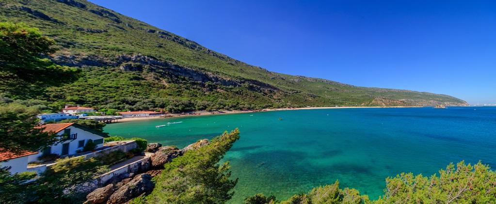Genieten van de kust van Portugal.