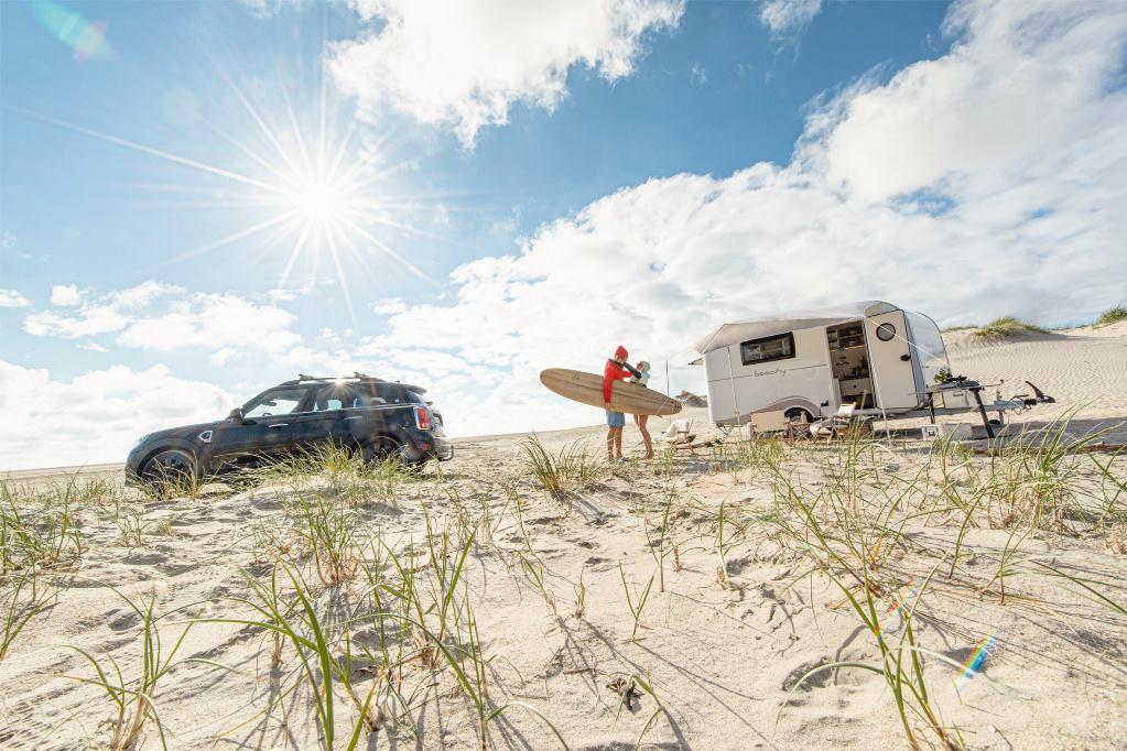 Het strandgevoel van de Beachy 360