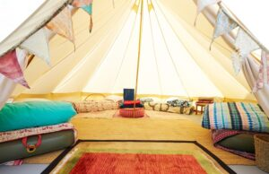 Pop-up camping