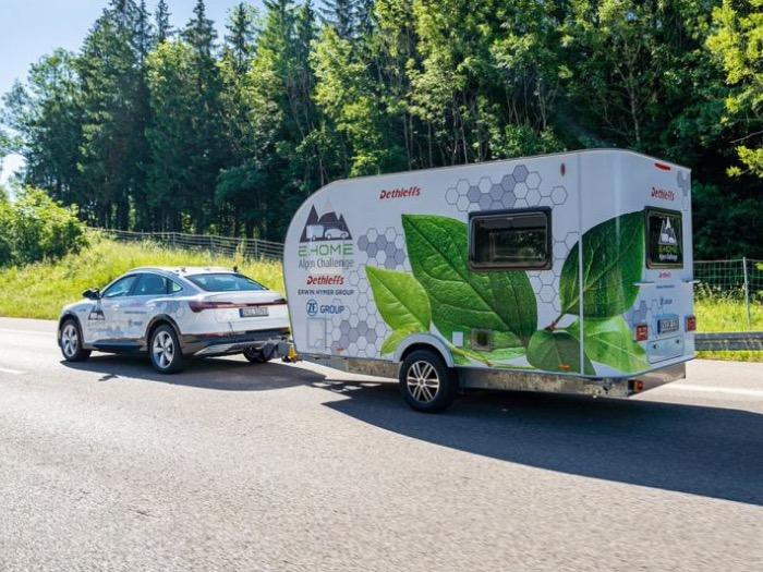 Dethleffs e-Home Coco: elektrisch aangedreven caravan