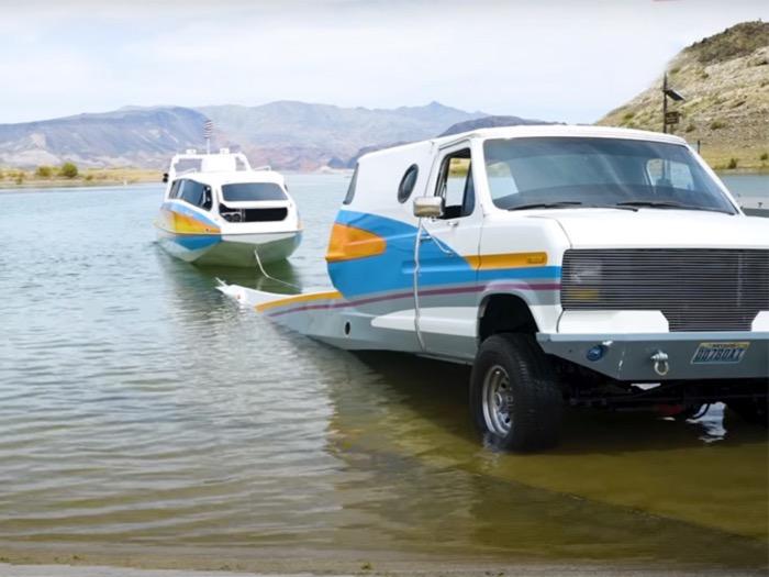 Boaterhome: voor land én water